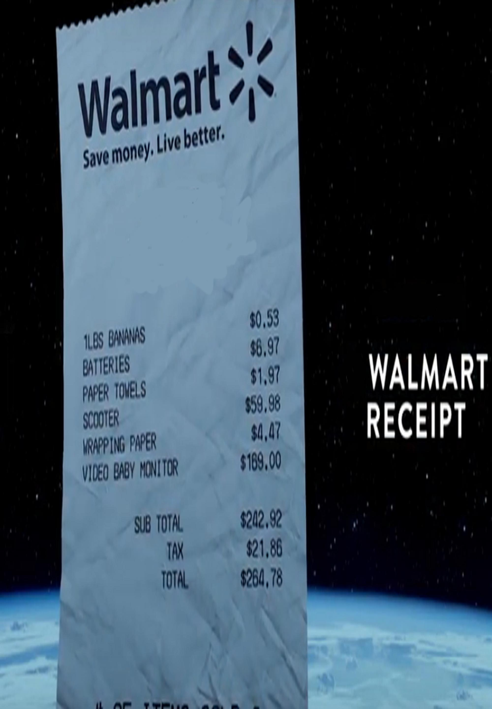 walmart receipt by rob barkan script revolution